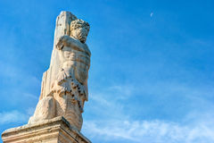 Ancient agora, Athens, Greece. Beautiful landscape photography Royalty Free Stock Image