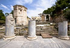 Ancient Agora, Athens, Greece Royalty Free Stock Image