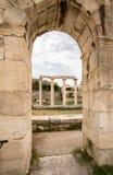 Ancient Agora, Athens, Greece. Ancient ruins inside Roman Agora, Athens, Greece Stock Photography