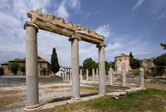 Ancient Agora, Athens, Greece Royalty Free Stock Photography