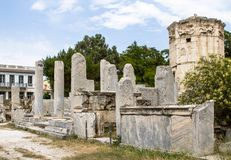 Ancient Agora, Athens, Greece Royalty Free Stock Images