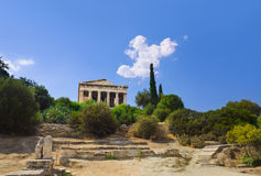 Ancient Agora at Athens, Greece Stock Photography