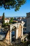 Ancient Agora in Athens,Greece. View of Ancient Agora in Athens,Greece Royalty Free Stock Photos