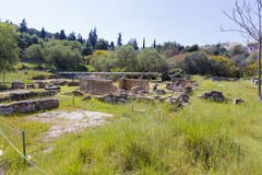 Ancient Agora of Athens. The ruins of ancient agora from Athens, Greece Stock Photos