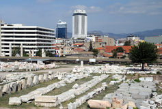 Ancient Agora in Izmir Stock Image