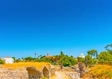 At ancient Agora of Kos Stock Photography