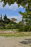 Ancient Agora Stock Images