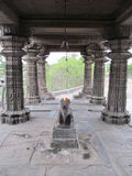 Ancient aishwareshwar temple. Its photo of Ancient aishwareshwar temple at sinnar in India stock images