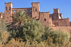 The ancient Ait Benhaddou village in Morocco Royalty Free Stock Images