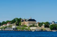 Ancient Akershus Fortress. Oslo, Norway royalty free stock image