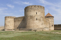 Ancient Akkerman fortress at Belgorod-Dnestrovsky, near Odessa, Ukraine. Citadel old fortress. The South of Ukraine photo Stock Images