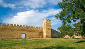 Ancient Akkerman fortress, Ukraine Stock Photography