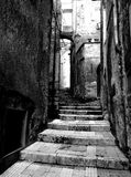 Ancient alley Stock Images