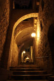 Ancient Alley in Jewish Quarter, Jerusale Stock Photo
