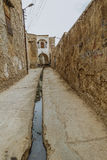 Ancient Alley in Kirkuk,Iraq Royalty Free Stock Image