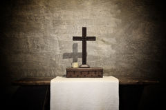 Ancient altar Royalty Free Stock Photography
