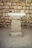 Ancient altar Stock Photo