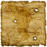 Ancient america map Stock Photos