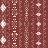 Ancient american indian pattern Stock Photos