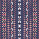 Ancient american indian pattern Royalty Free Stock Photos