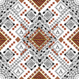 Ancient american indian pattern Royalty Free Stock Images