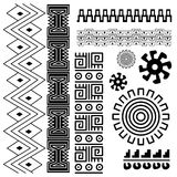 Ancient american pattern Royalty Free Stock Photo