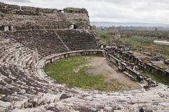 Ancient amphiteater Stock Photo