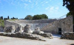 Amphiteater in Kos, Greece Stock Photo