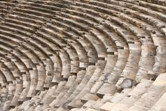The ancient amphitheater Stock Photography