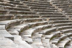 The ancient amphitheater Royalty Free Stock Photography