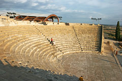 Ancient amphitheater stock image
