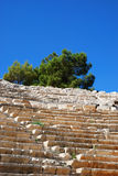 Ancient amphitheater stock photo