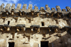 Ancient Amphitheater Aspendos Stock Images