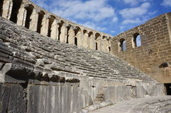 Ancient Amphitheater Aspendos Stock Photography