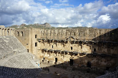 Ancient Amphitheater Aspendos Royalty Free Stock Photo