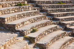 Ancient amphitheater in Ephesus Turkey Stock Image