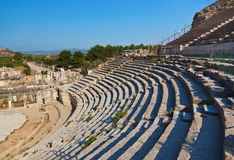 Ancient amphitheater in Ephesus Turkey Royalty Free Stock Photo