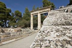 Ancient amphitheater of Epidaurus in Greece Stock Photography