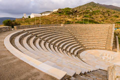Ancient amphitheater Stock Photos