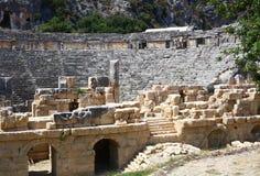 Ancient amphitheater Royalty Free Stock Photos
