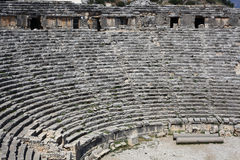 Ancient amphitheater Royalty Free Stock Photos
