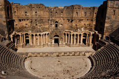 Ancient amphitheater in Palmyra. Syria Stock Images