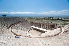 Ancient amphitheater Stock Photos