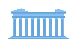 Ancient amphitheater vector illustration. Stock Images