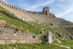 Ancient amphitheater Royalty Free Stock Images