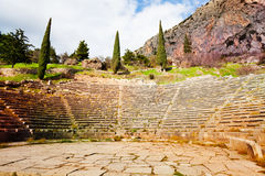 Ancient amphitheater Royalty Free Stock Photo