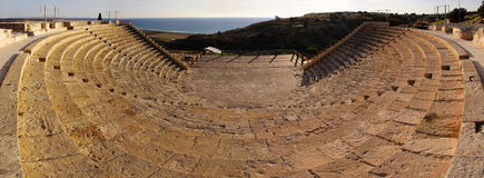 Ancient amphitheatre Stock Image
