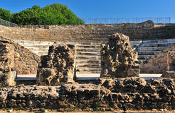 Ancient amphitheatre Royalty Free Stock Photography