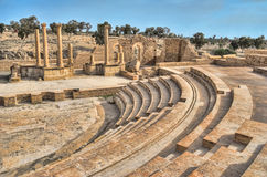 Ancient amphitheatre Stock Photo