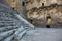 Ancient amphitheatre arena Royalty Free Stock Photo